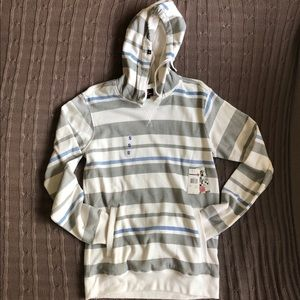 NWT Billabong | Striped Pullover Hoodie
